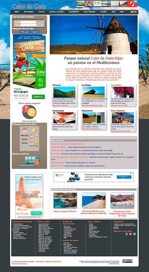 Almería Web design