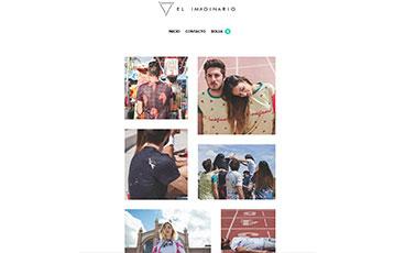 Diseño tienda online camisetas