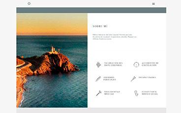 Diseño web pagina médica